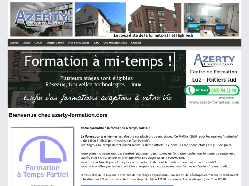 Azerty Formation : Formation informatique en France