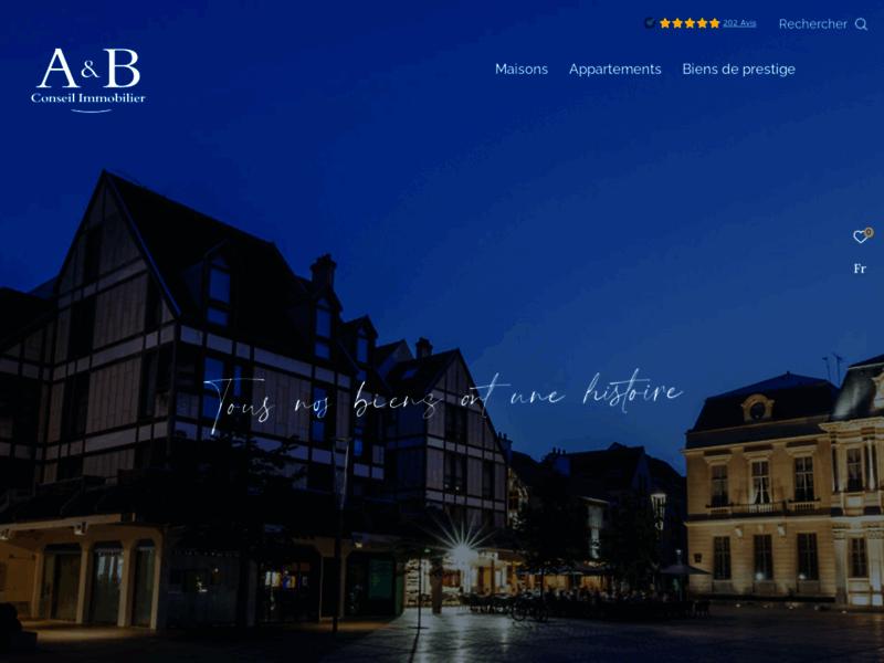 Agence immobilière A et B Conseil