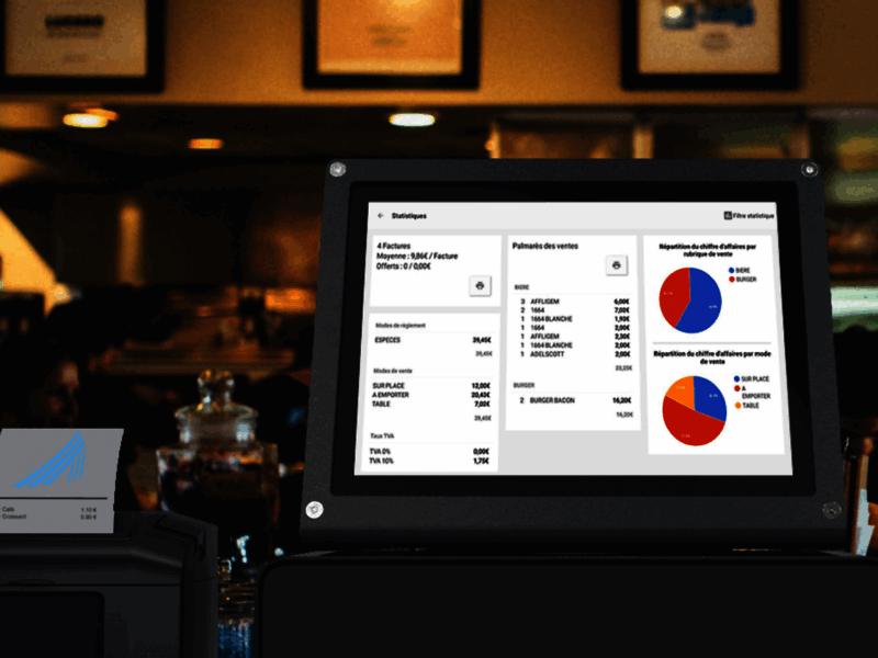 AddicTill, votre caisse enregistreuse tactile