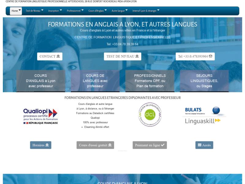 Formation, séjour linguistique, soutien scolaire, traduction