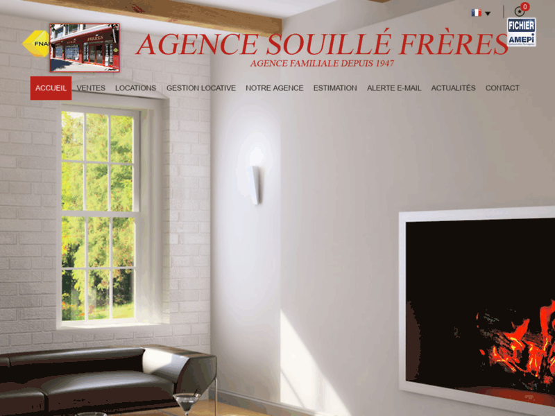 Agence immobilière Souillé Frères