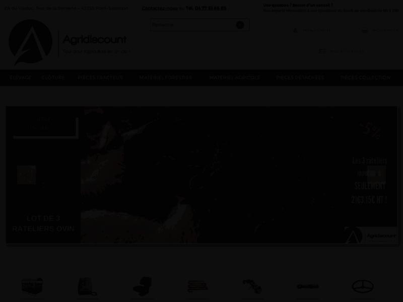 Agridiscount, matériel agricole et de motoculture, Saint-Didier-en-Velay