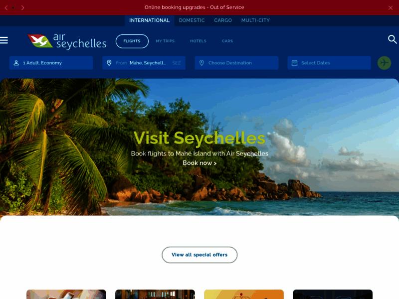 Air Seychelles, compagnie aérienne nationale