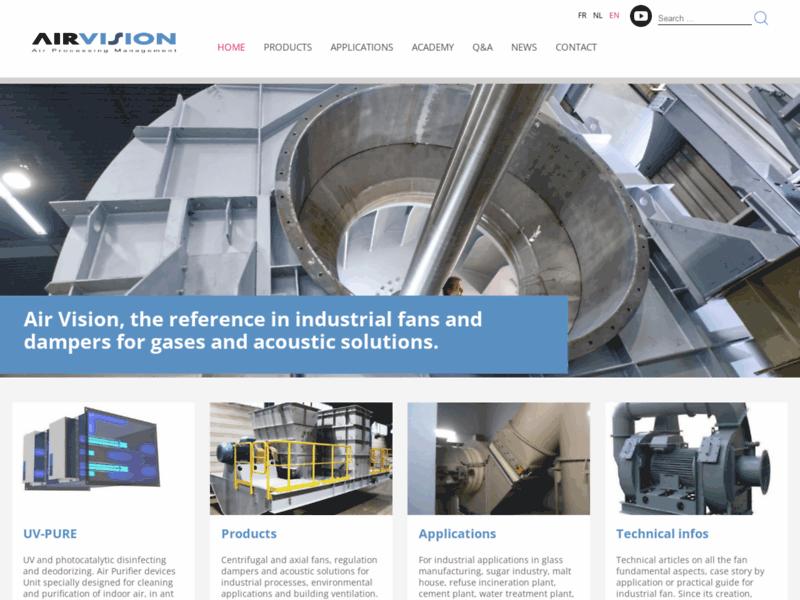 Ventilateurs industriels Air Vision