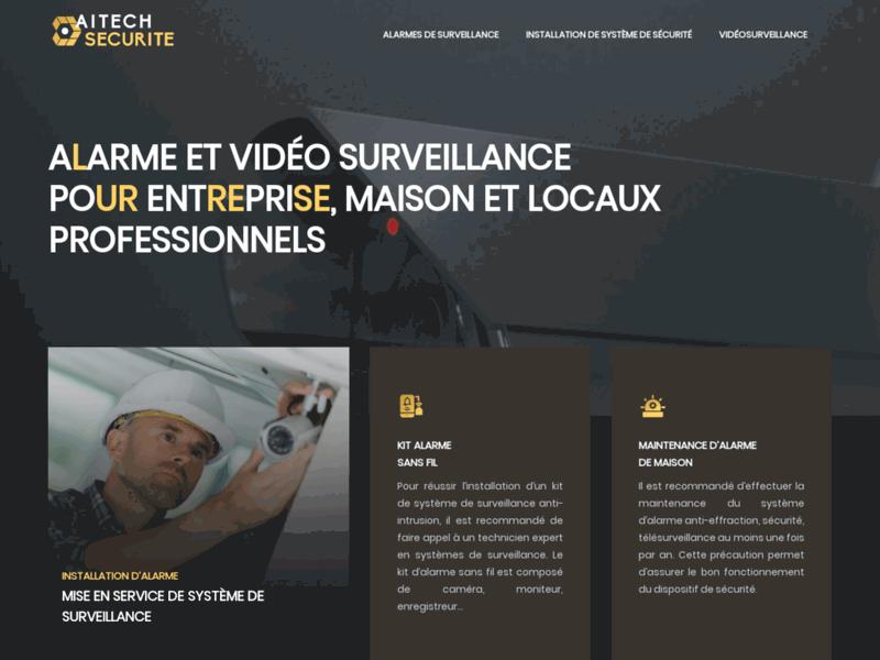 Aitech Sécurité : Télésurveillance