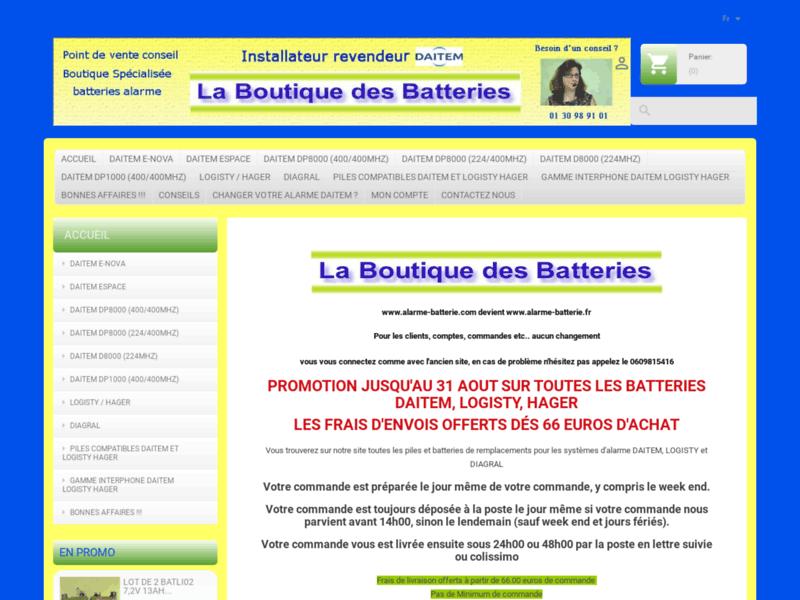 La Boutique des batteries