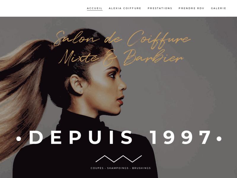 Alexia Coiffure mixte et vente en ligne de produits de coiffure