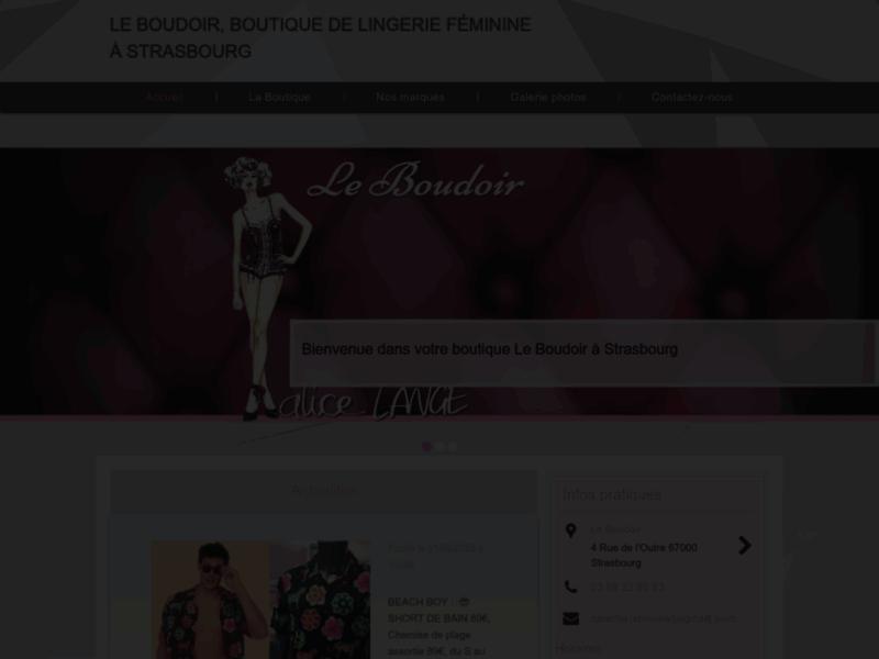 Boutique de lingerie pour femmes à Strasbourg