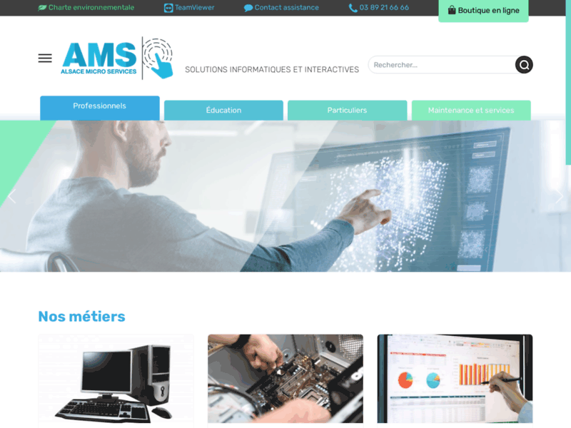 Alsace Micro Services, dépannage informatique