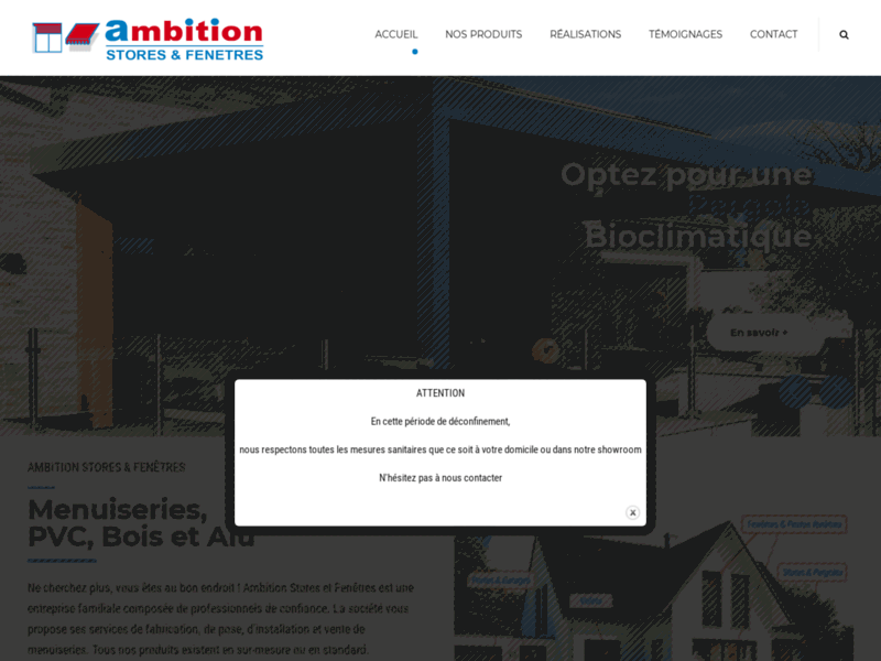 Ambition Stores Fenêtres