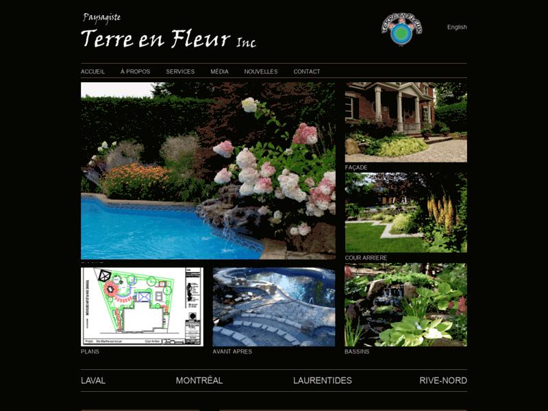 Aménagement paysager Montreal - Terre en Fleur