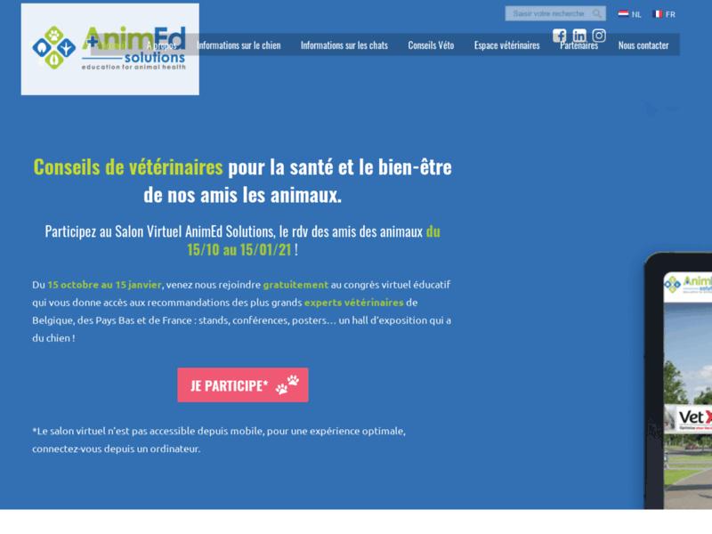 AnimEd Solutions : éducation à la santé et au bien-être des chiens et chats