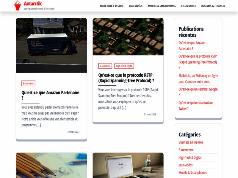 Jeux Virtuel Gratuit - Antarctik