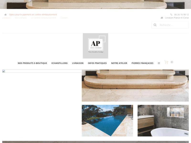 Apex Pierre, vente de pierres naturelles, marbres et carrelages
