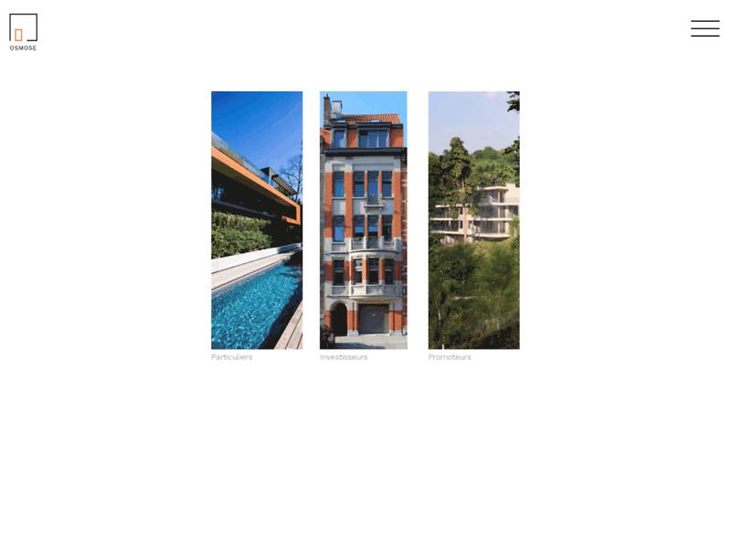 Bureau d'architecture et de paysage à Bruxelles