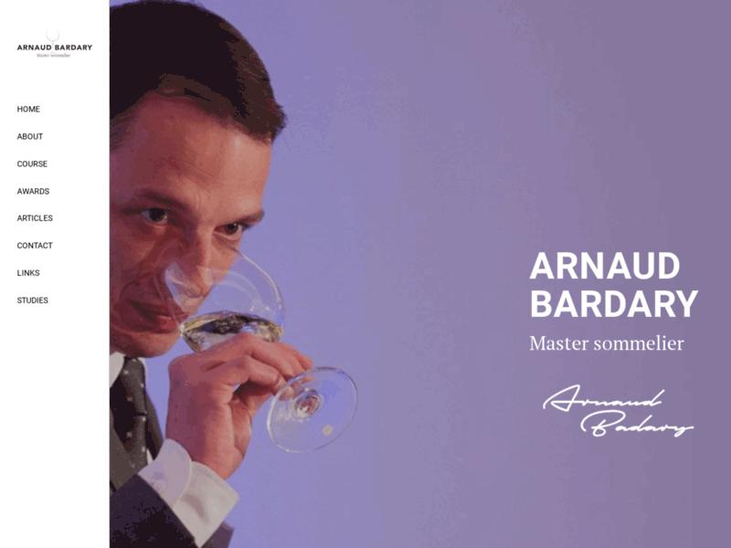 Arnaud Bardary, Master Sommelier London