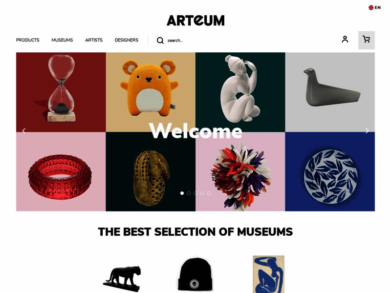 Découverte de grands créateurs, l'art a choisi Arteum