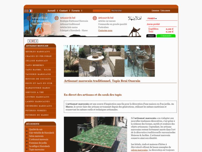 Tapis marocains Décoration Artisanat du Sud