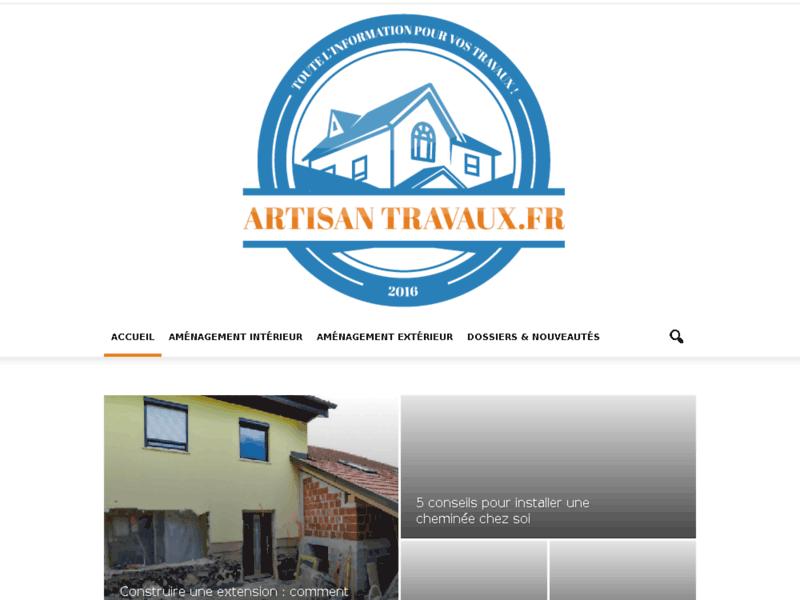 ArtisanTravaux : Artisans du bâtiment