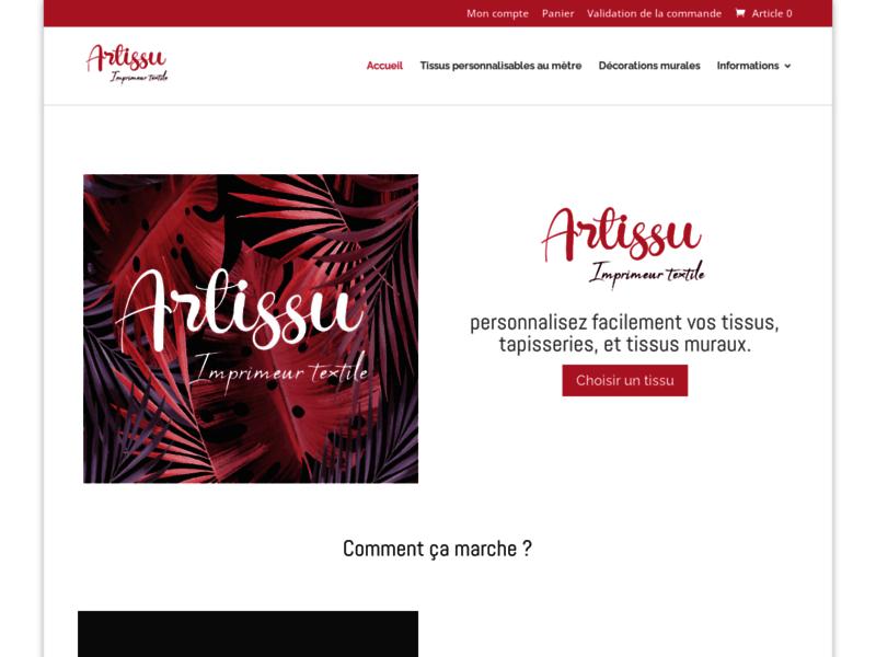 ArTissu : Œuvres d'art imprimées textiles