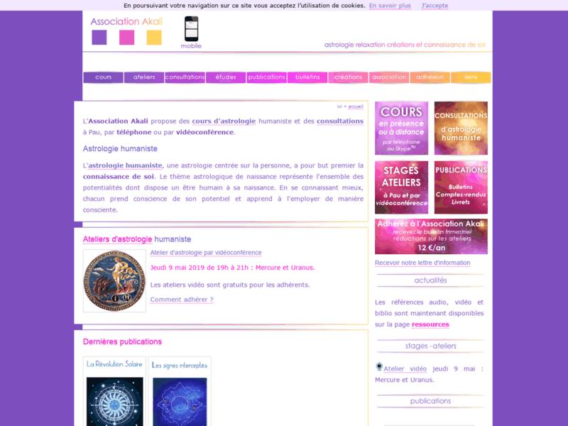 Association Akali cours d'astrologie