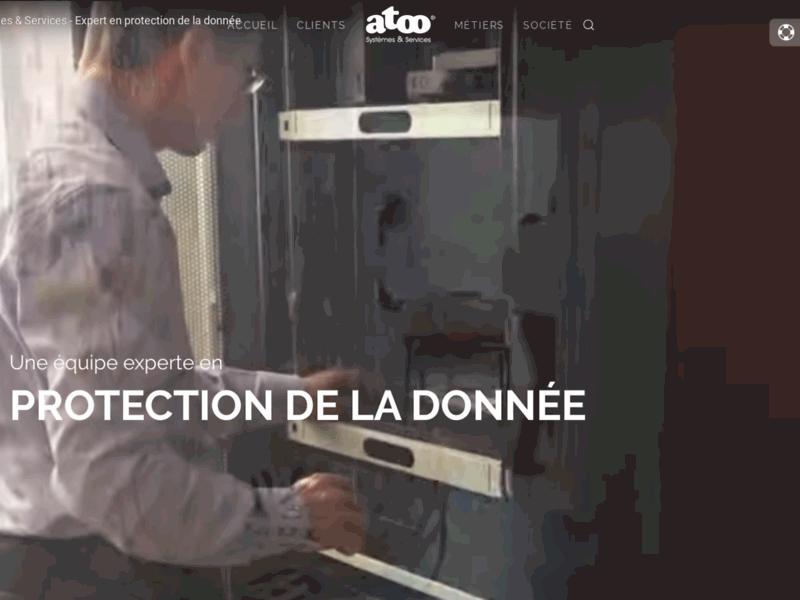 Atoo Systèmes & Service, spécialiste sauvegarde et stockage