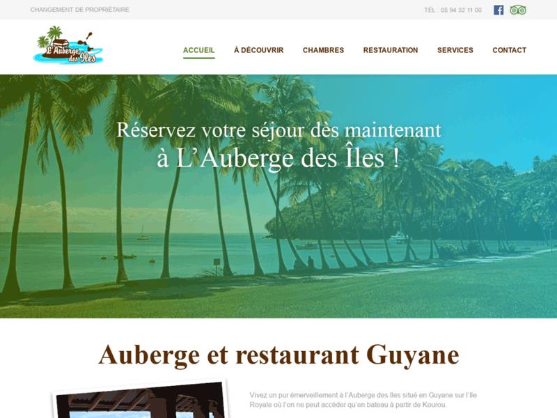 Auberge des Iles, auberge et restaurant en Guyane