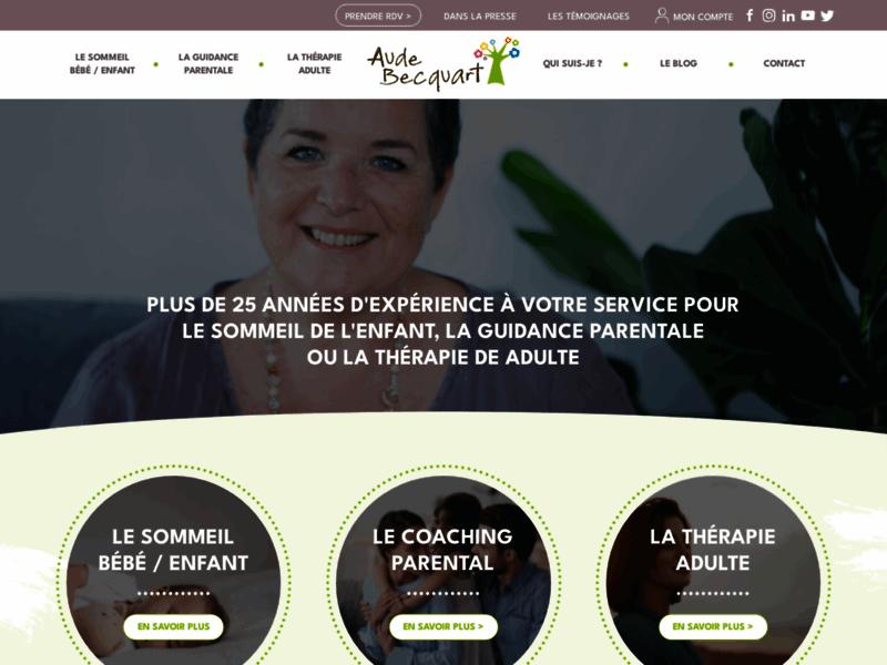 Pour une parentalité seine avec Aude Becquart