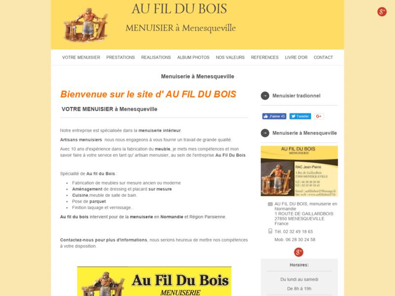 Au Fil Du Bois - Menuisier en Normandie