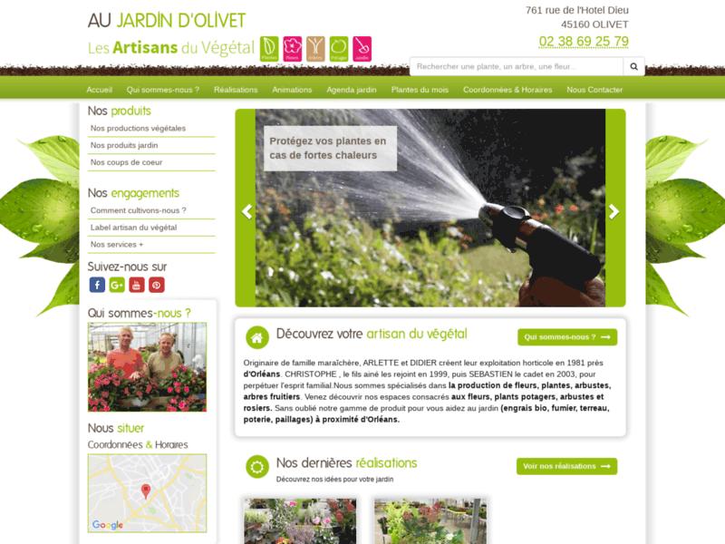Artisan du végétal - Au Jardin d'Olivet