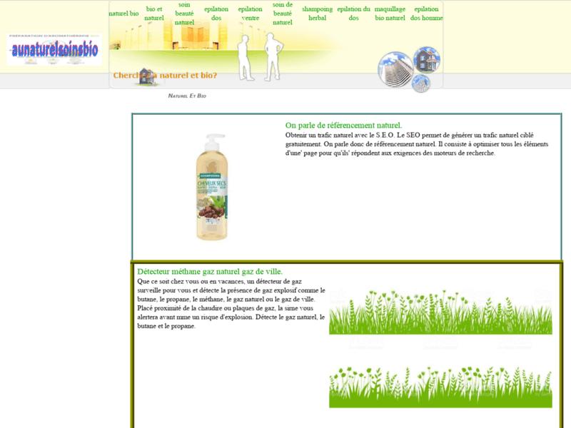 Au Naturel Soins Bio, l'institut de beauté et de bien-être en ligne