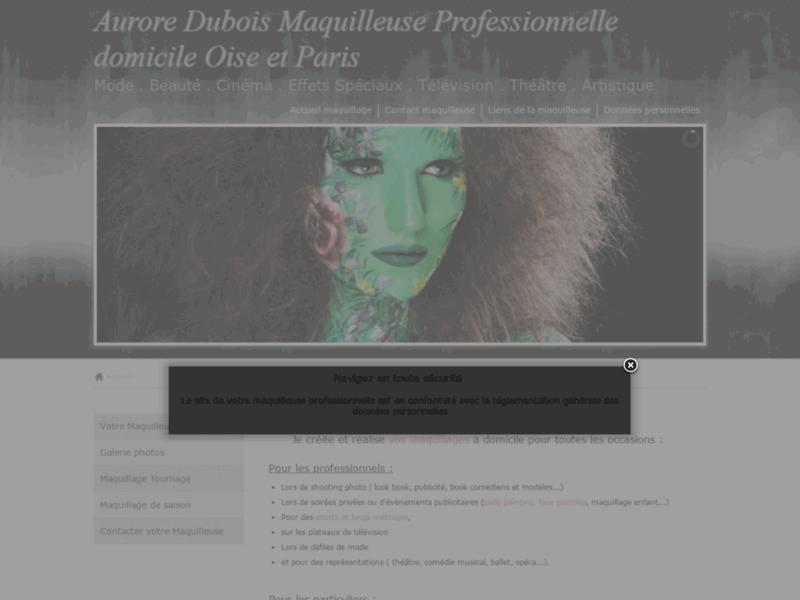Aurore Dubois maquilleuse professionnelle
