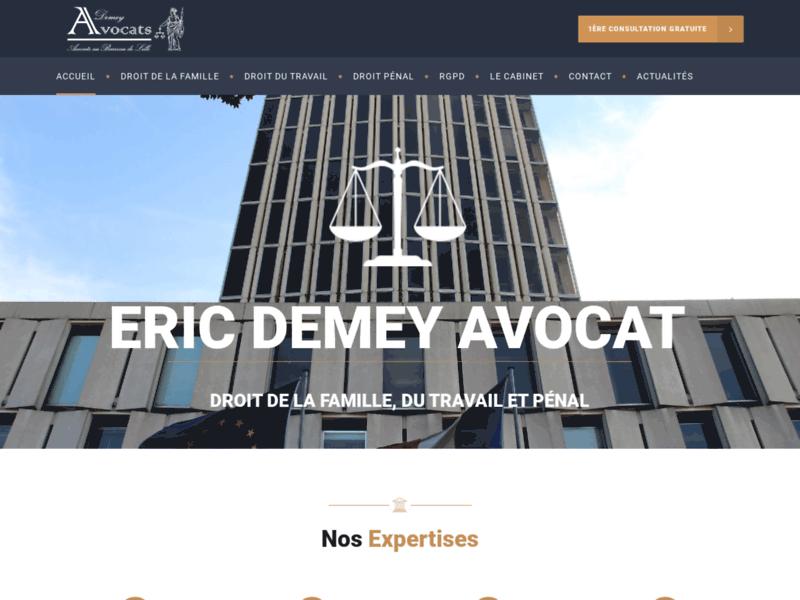 Maître Eric Demey: Avocat en droit commercial à Lille