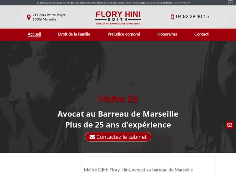Maître Flory Hini, avocat à Marseille 6