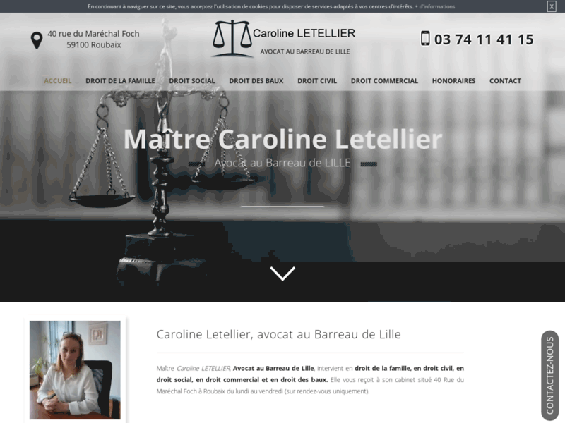 Cabinet d'avocats spécialiste du droit de la famille à Roubaix