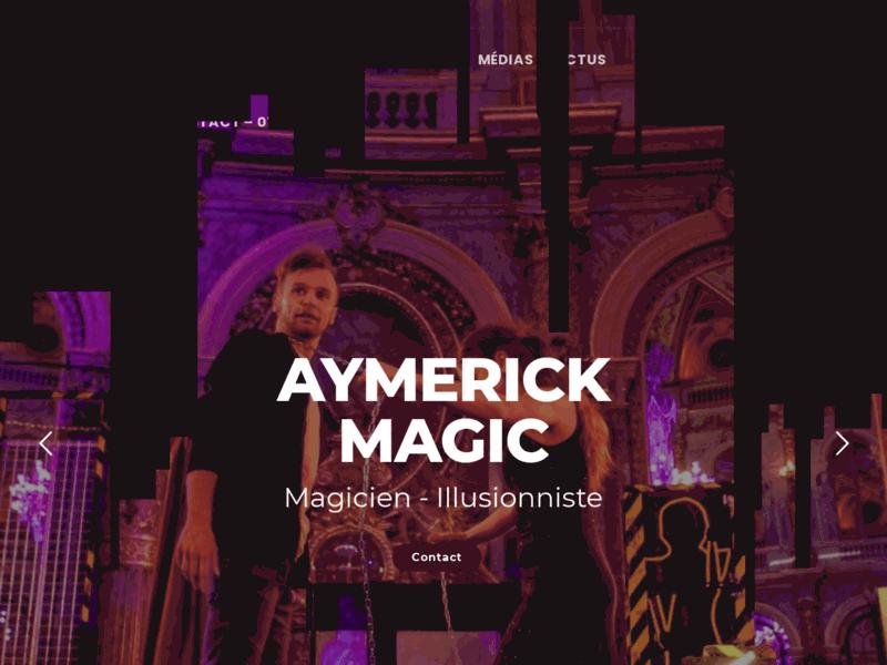 Aymerick Magic - Magicien Illusionniste
