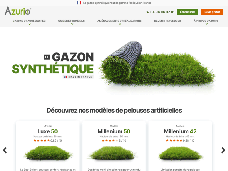 Azurio gazon