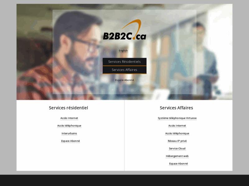 B2B2C Internet Haute Vitesse - Montreal