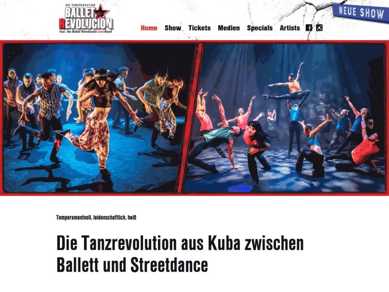 Spectacle de danse contemporaine