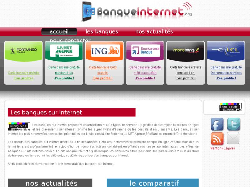 Banque internet