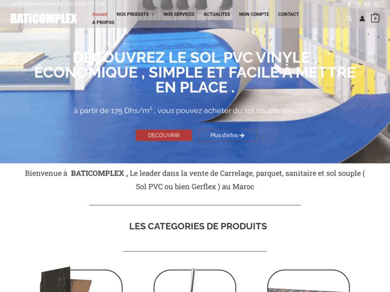 Baticomplex, aménagement et rénovation à Marrakech