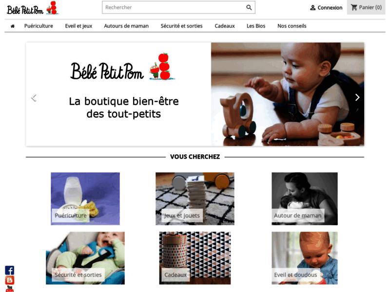 Bébé Petit Pom: boutique et conseils pour le soin et l'éveil de bébé