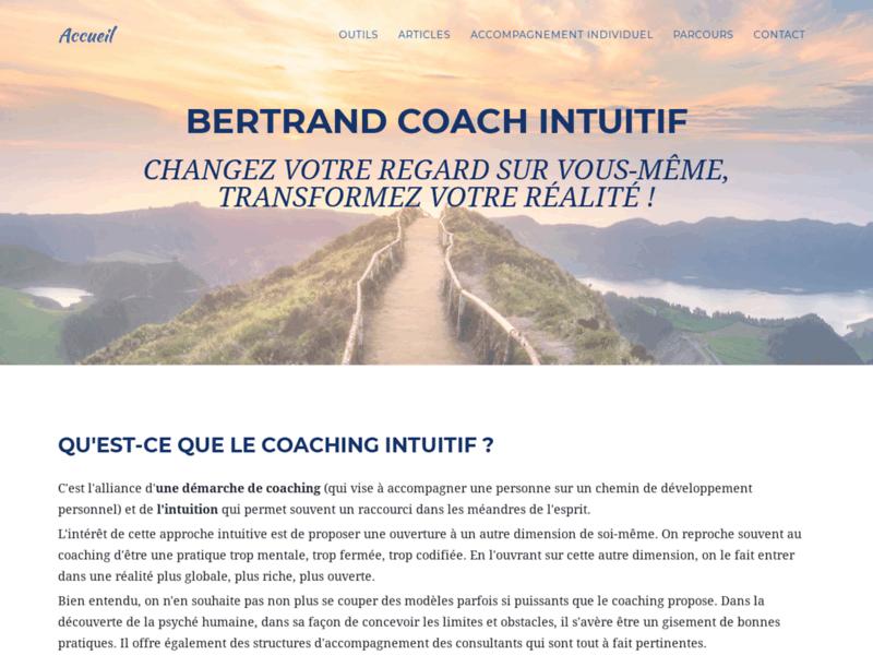 Bertrand coach intuitif : Sur le chemin de la connaissance de soi