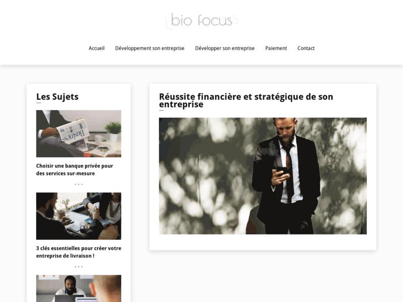 Web magazine de la biologie