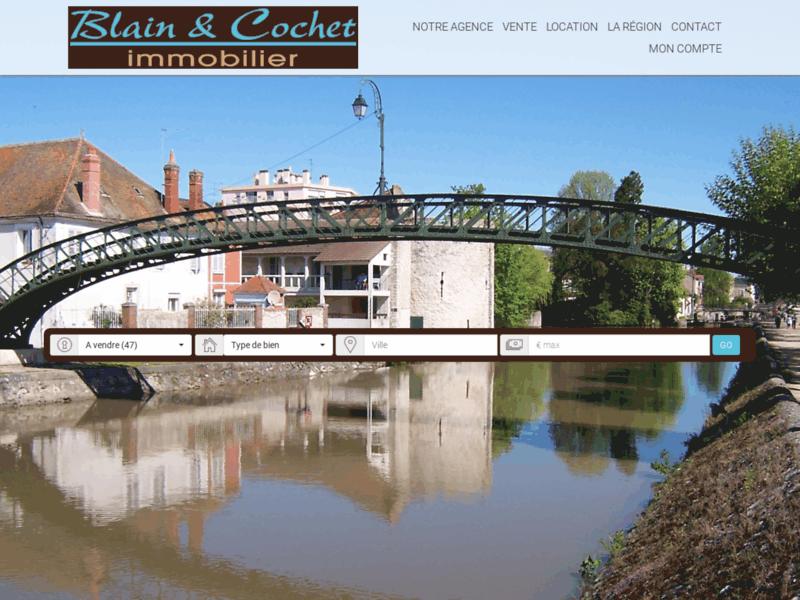 Blain & Cochet Immobilier Montargis