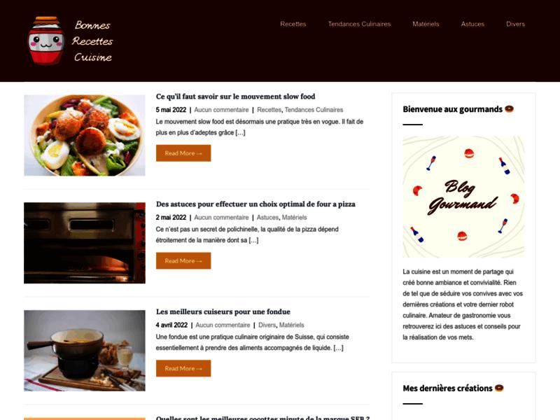 Vos meilleures recettes de cuisine en ligne