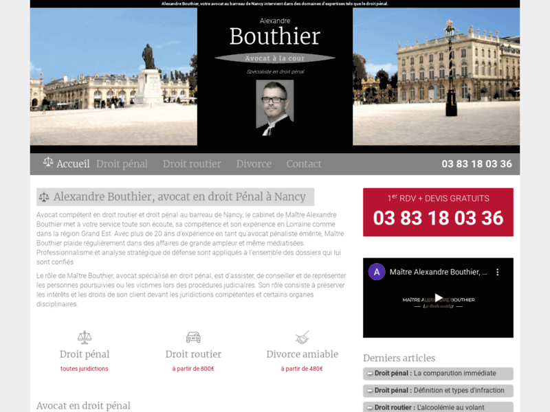 Divorcer à l'amiable avec Bouthier-Alexandre-avocat.fr