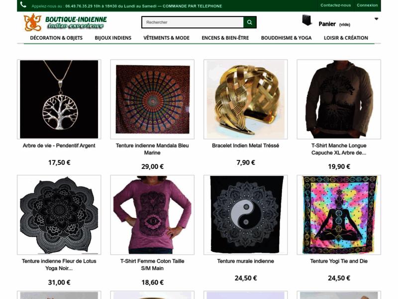 Boutique Indienne, décoration Indienne 100% importée