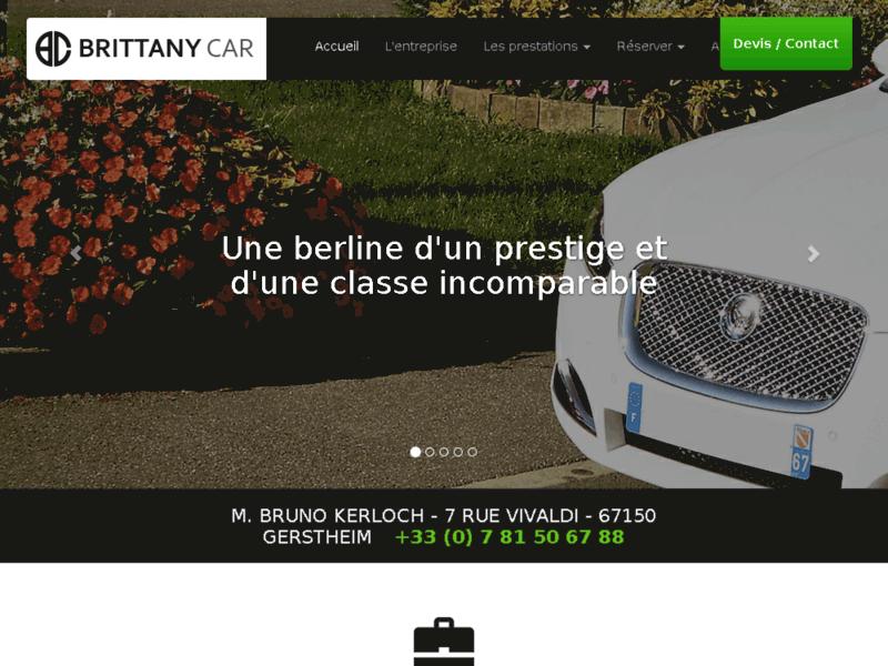 Brittany Car location d'une Jaguar avec son chauffeur