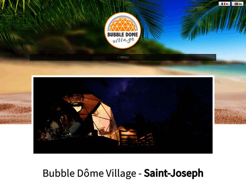 Bubble Dôme Village. Location de vacances.